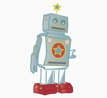 My robot friend Blue Kids Clothes