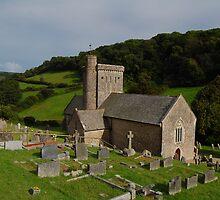 St Winifreds Church, Branscombe. by Tony Reed