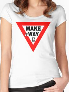 MAKEaWAY! Women's Fitted Scoop T-Shirt