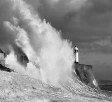Porthcawl Lighthouse by Steve  Liptrot