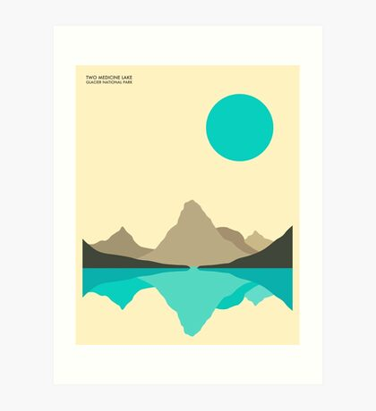 GLACIER NATIONAL PARK Art Print