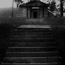 Cemetery Steps by Miku Jules Boris Smeets