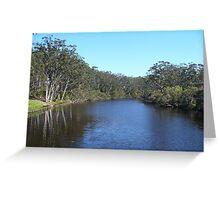 Denmark River, Western Australia Greeting Card