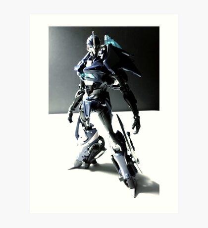Transformers Prime Arcee Toy Art Print
