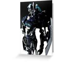 Transformers Prime Arcee Greeting Card