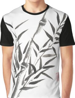 No doubt bamboo sumi-e painting Graphic T-Shirt