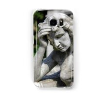 weeping angel, Monumental Cemetery  Samsung Galaxy Case/Skin