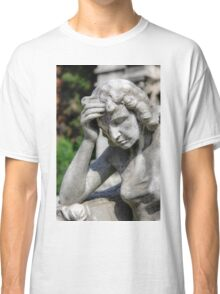 weeping angel, Monumental Cemetery  Classic T-Shirt
