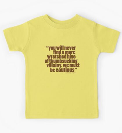 'you will never find...' Kids Tee