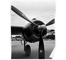 Bomber Propeller Poster