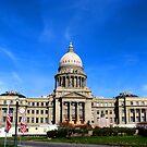 Idaho State Capitol Building in Boise Idaho, USA by Brenda Dahl