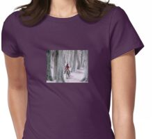 Through The Woods Womens Fitted T-Shirt