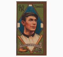 Benjamin K Edwards Collection Harry Wolter New York Yankees baseball card portrait One Piece - Short Sleeve