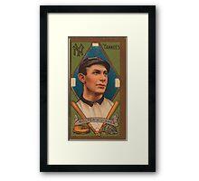 Benjamin K Edwards Collection Harry Wolter New York Yankees baseball card portrait Framed Print