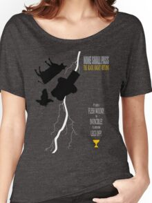THE BLACK KNIGHT RETURNS Women's Relaxed Fit T-Shirt