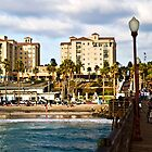 View from the Oceanside Pier by Donovan Olson