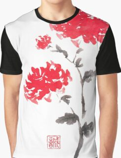 Royal pair sumi-e painting Graphic T-Shirt