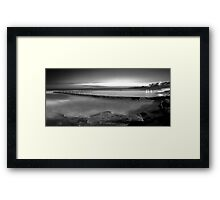 Shelly Beach Tidal Pool - Cronulla Framed Print