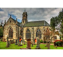 The Kirk of Calder Photographic Print
