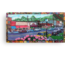 'Downtown Blowing Rock' Canvas Print