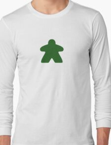 Green Meple Long Sleeve T-Shirt
