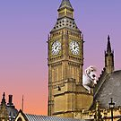 Scooby at Big Ben by wendywoo1972