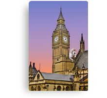 Scooby at Big Ben Canvas Print