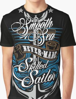 Skilled Sailor Graphic T-Shirt