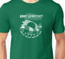 Davy Sprocket Logo - white Unisex T-Shirt
