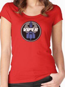 Rebel Viper Alliance  Women's Fitted Scoop T-Shirt