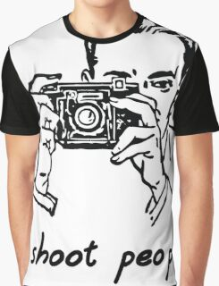 I shoot people. Photographer Graphic T-Shirt