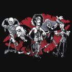 RHPS gang of five by Bleee