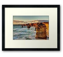 """The Apostles"" Framed Print"
