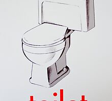 Vintage Toilet card by timboss81
