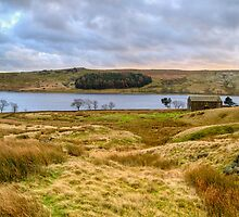 Barn by the Tarn Panorama II by TheWalkerTouch