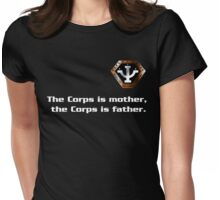Psi Corps Womens Fitted T-Shirt