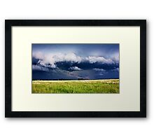 Storm Approching Framed Print