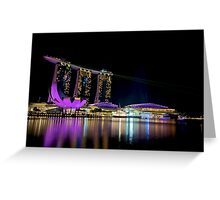 Singapore on the Bay Greeting Card