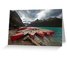 Lake Louise, Banff National Park, Alberta Canada Greeting Card