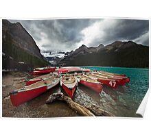Lake Louise, Banff National Park, Alberta Canada Poster