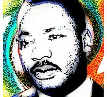 MARTIN LUTHER KING JR by OTIS PORRITT