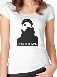 Shutdown / Skepta Women's Fitted Scoop T-Shirt