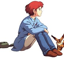 Nausicaä of the Valley of the Wind by aniplexx