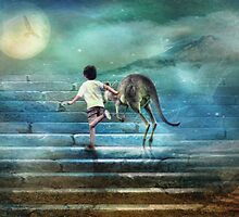 Seven Steps to the Moon by Trudi's Images
