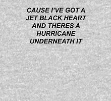 5SOS- JET BLACK HEART  Unisex T-Shirt