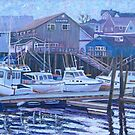 Nova Scotia Boats At Rest by Richard Nowak