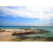 Ocean view Photographic Print