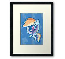 Weeny My Little Pony- Rainbow Dash Framed Print