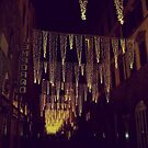 Florence decorated for Christmas by Ashli Amabile