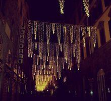 Florence decorated for Christmas by Ashli Amabile